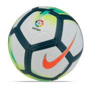 Nike La Liga Ordem V Official Match Football - White/Turquoise/Seaweed/Total Orange