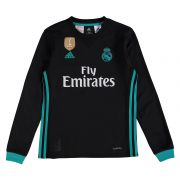 Real Madrid Away Shirt 2017-18 - Kids - Long Sleeve with Ronaldo 7 printing