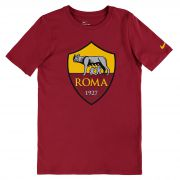 AS Roma Ever Green T-Shirt - Red - Kids