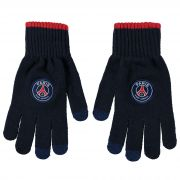 Paris Saint-Germain Paris Saint-Germain Logo Gloves - Navy - Adult