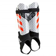 adidas Messi 10 Shinguards - White/Clear Onix/Black - Kids
