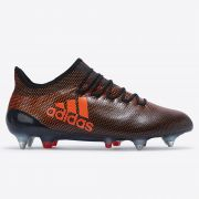 adidas X 17.1 Soft Ground Football Boots - Core Black/Solar Red/Solar Orange