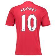 Manchester United Rooney Testimonial Home Shirt 2016-17