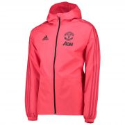 Manchester United Training Rain Jacket - Pink
