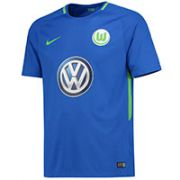 VfL Wolfsburg Away Stadium Shirt 2017-18 - Kids with Hinds 32 printing