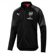 Arsenal Training Stadium Jacket - Black