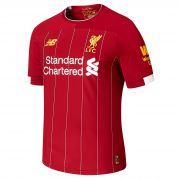 Liverpool Home Elite Shirt 2019-20 with Virgil 4 printing