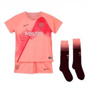 Barcelona Third Stadium Kit 2018-19 - Little Kids with Vermaelen 25 printing