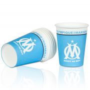 Olympique de Marseille Paper Cup Pack of 6