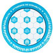 Olympique de Marseille Paper Plates Pack of 6