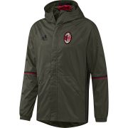 AC Milan Training All Weather Jacket - Dark Green