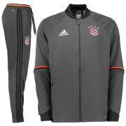 Bayern Munich Training Presentation Suit - Grey