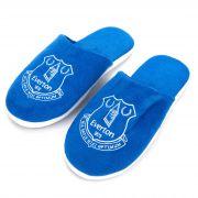 Everton Split Colour Slippers - Blue - Mens