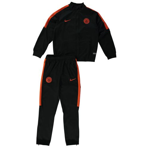 Manchester City Squad Knit Tracksuit - Black - Kids