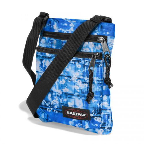 Чанта през рамо Eastpak RUSHER Blue Parisian EK089.85J