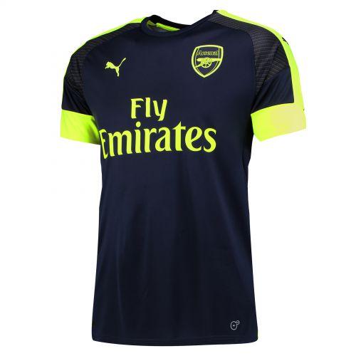 Arsenal Third Shirt 2016-17 with Mertesacker 4 printing