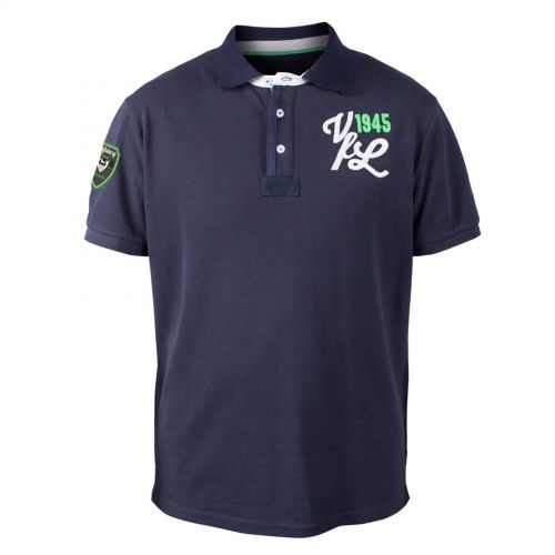 VfL Wolfsburg Established 1945 Polo Shirt - Grey - Mens