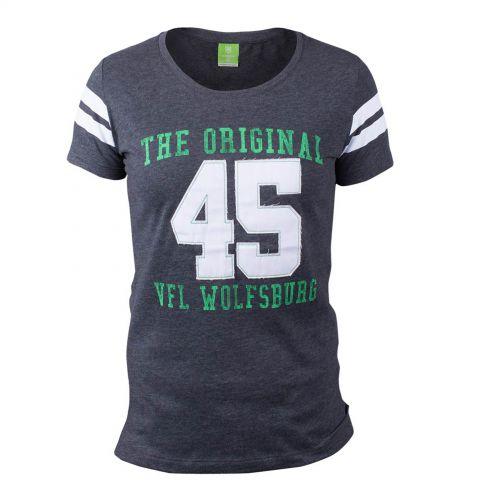 VfL Wolfsburg Sports T-Shirt - Grey - Womens