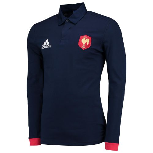France Rugby Supporters Shirt - Long Sleeve