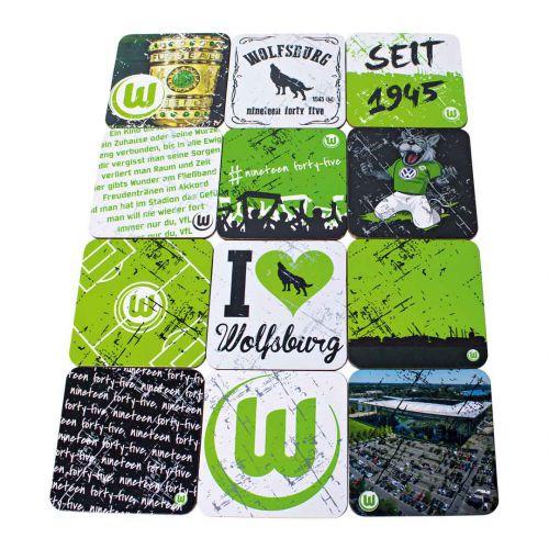 VfL Wolfsburg Cork Coaster Set