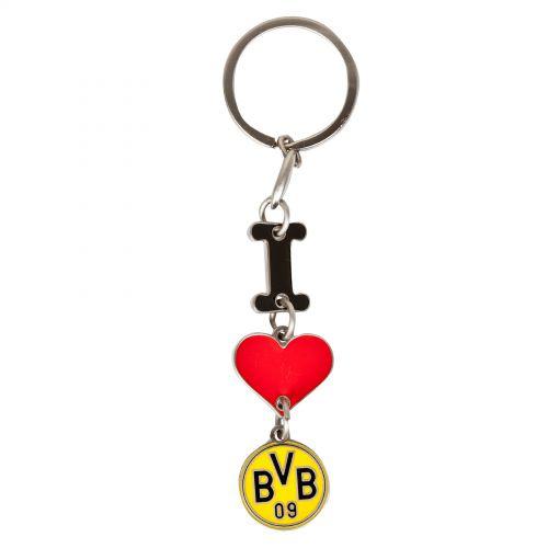 BVB I Love BVB Keyring