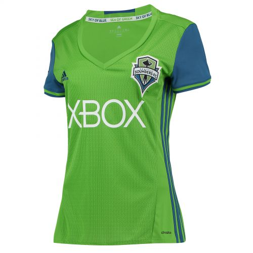 Seattle Sounders Home Shirt 2016-17 - Womens with Mathers 32 printing