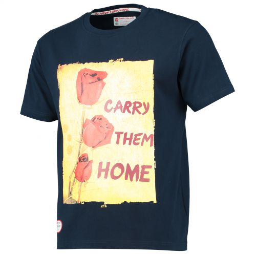 England Classics Collection Carry Them Home T-Shirt - Navy
