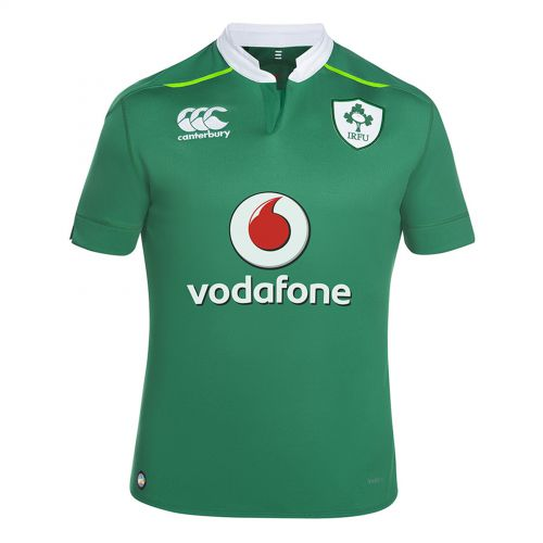 Ireland Rugby VapoDri+ Home Pro Rugby Shirt - Kids