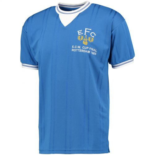Everton 1985 European Cup Winners Cup Final Shirt - Blue