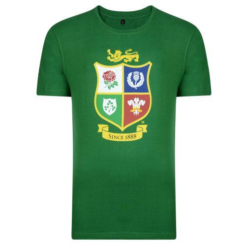 British & Irish Lions NZ 2017 T-Shirt - Irish Green