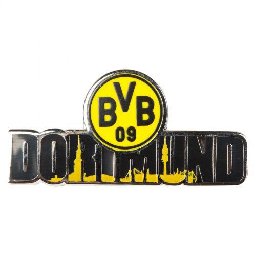 BVB Dortmund Skyline Pin Badge