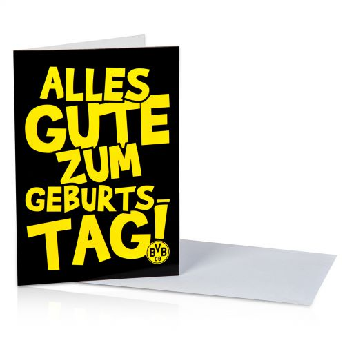 BVB Birthday Card