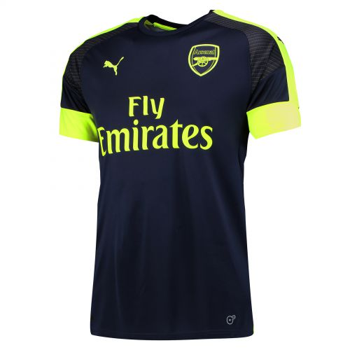 Arsenal Third Shirt 2016-17 with Mohamed Elneny 35 printing