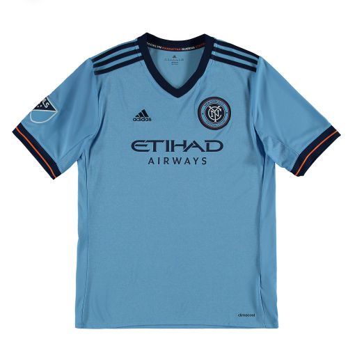 New York City FC Home Shirt 2017-18 - Kids
