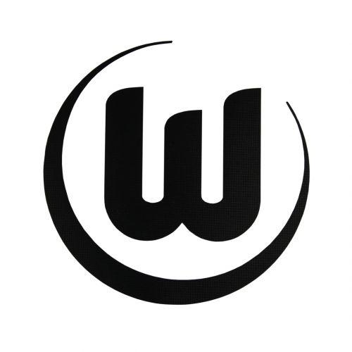 VfL Wolfsburg Logo Sticker - Black - 8cm