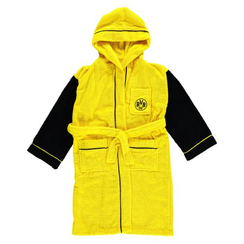 BVB Bathrobe - Junior - Yellow/Black
