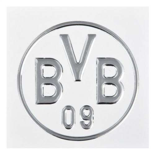 BVB Car Sticker Silver