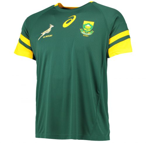 South Africa Springboks Rugby Fan T-Shirt - Bottle Green
