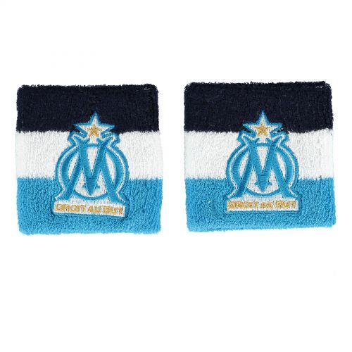 Olympique de Marseille Stripe Wristbands