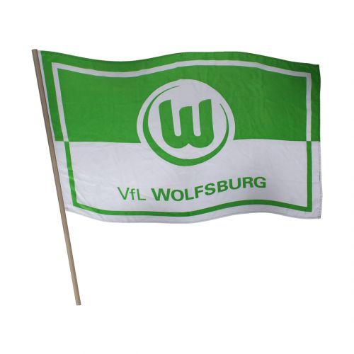 VfL Wolfsburg Panning Logo Flag