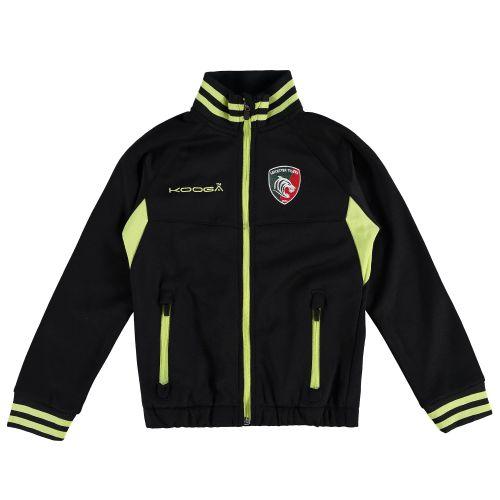 Leicester Tigers Zip Thru Jacket - Junior