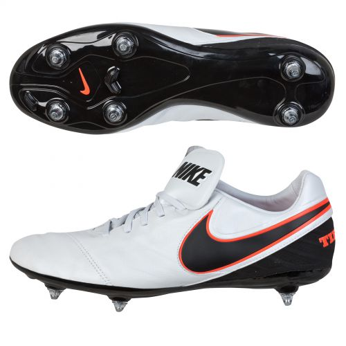 Nike Tiempo Legacy II Soft Ground Football Boots White