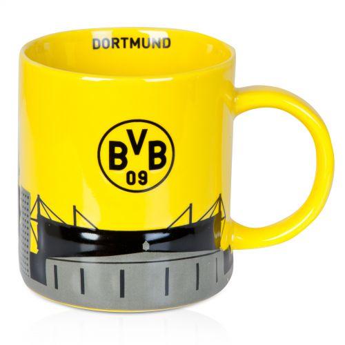 BVB Skyline Mug Yellow