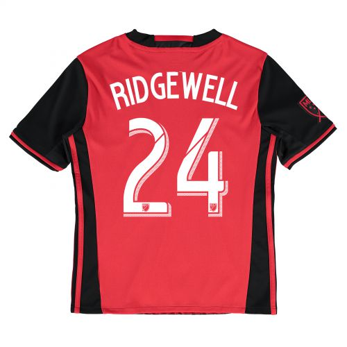 Portland Timbers Away Shirt 2016 - Kids with Liam Ridgewell 24 printing