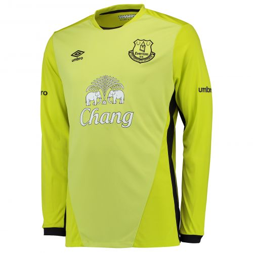 Everton Goalkeeper Home Shirt 2016/17 with Joel 1 printing