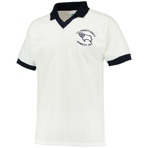 Derby County 1975 Charity Shield shirt