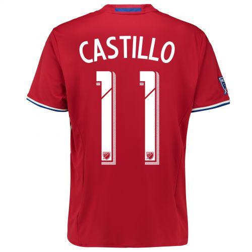 FC Dallas Home Shirt 2016 with Fabian Castillo 11 printing