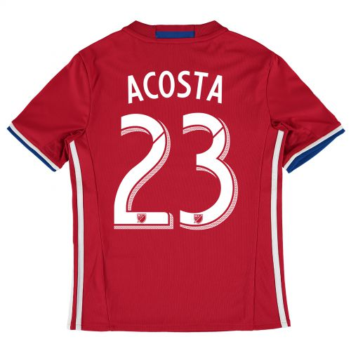 FC Dallas Home Shirt 2016 - Kids with Kellyn Acosta 23 printing