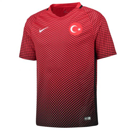 Turkey Home Shirt 2016 - Kids with Ozyakub 14 printing