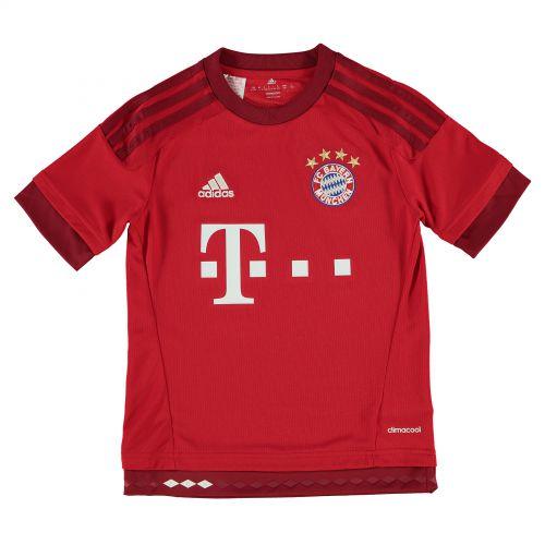 Bayern Munich Home Shirt 2015/16 - Kids Red